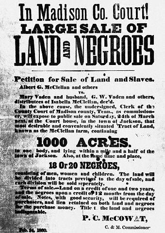 Sale Of Negroes  Circumspectus Historia    History