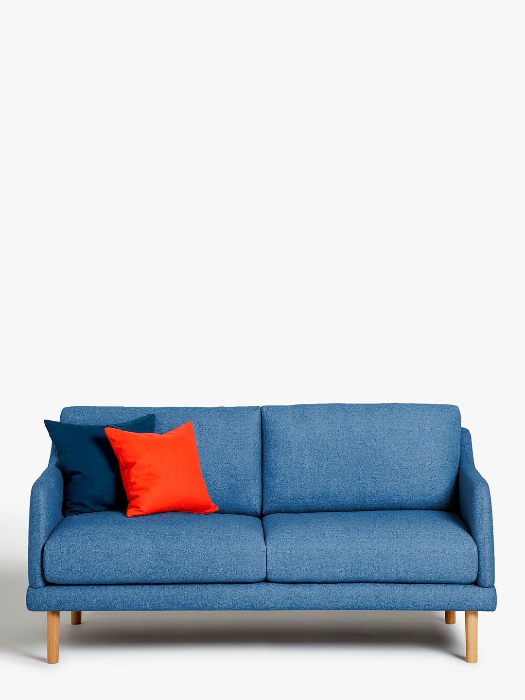 Pleasant House By John Lewis Sweep Small 2 Seater Sofa Light Leg Andrewgaddart Wooden Chair Designs For Living Room Andrewgaddartcom