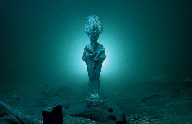 Thonis Heracleion Underwater City Ancient Egyptian Cities
