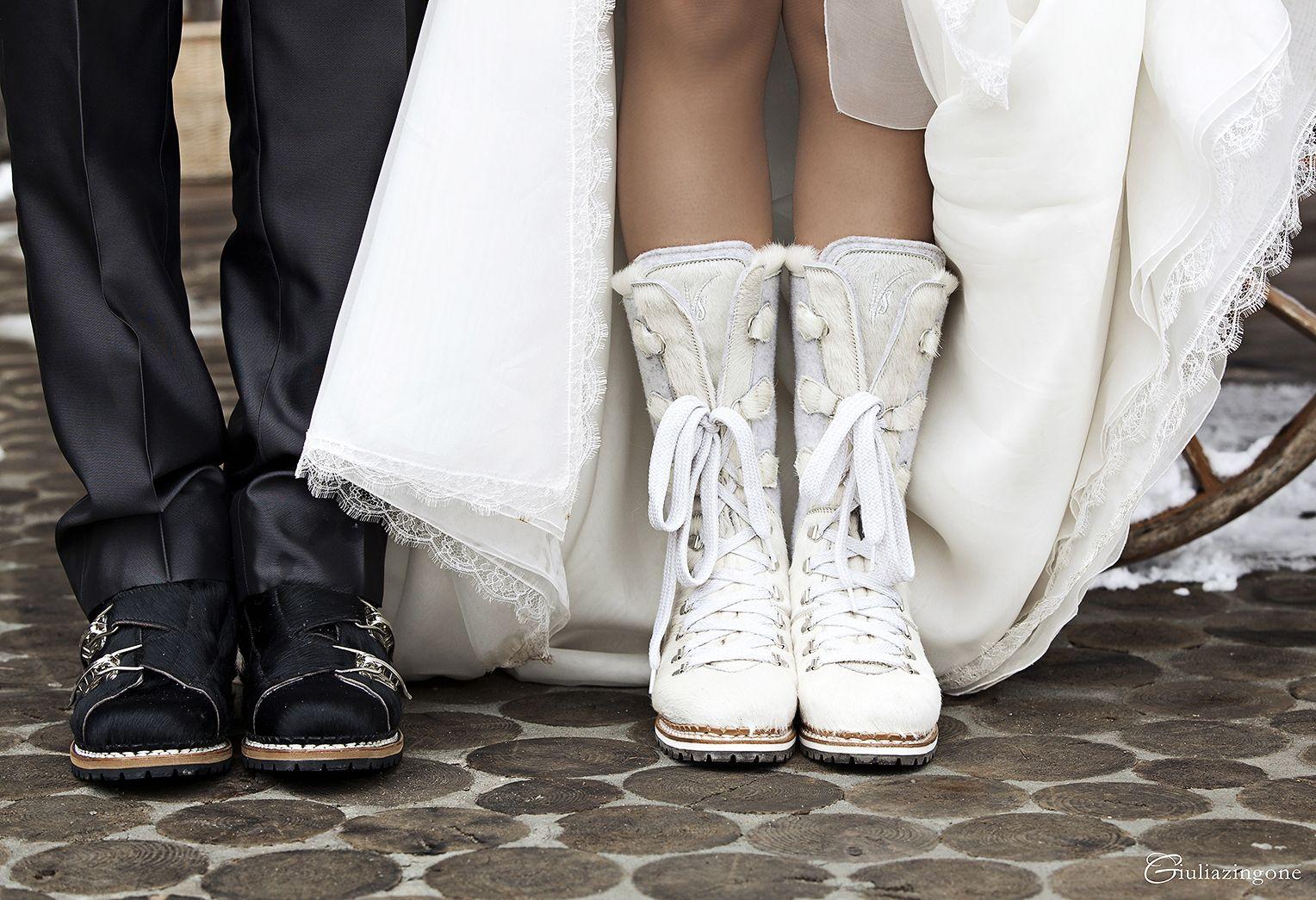 Scarpe Sposa Udine.Stivaletti Cavallino Scarpe Sposa Invernali Bridal Boots For A