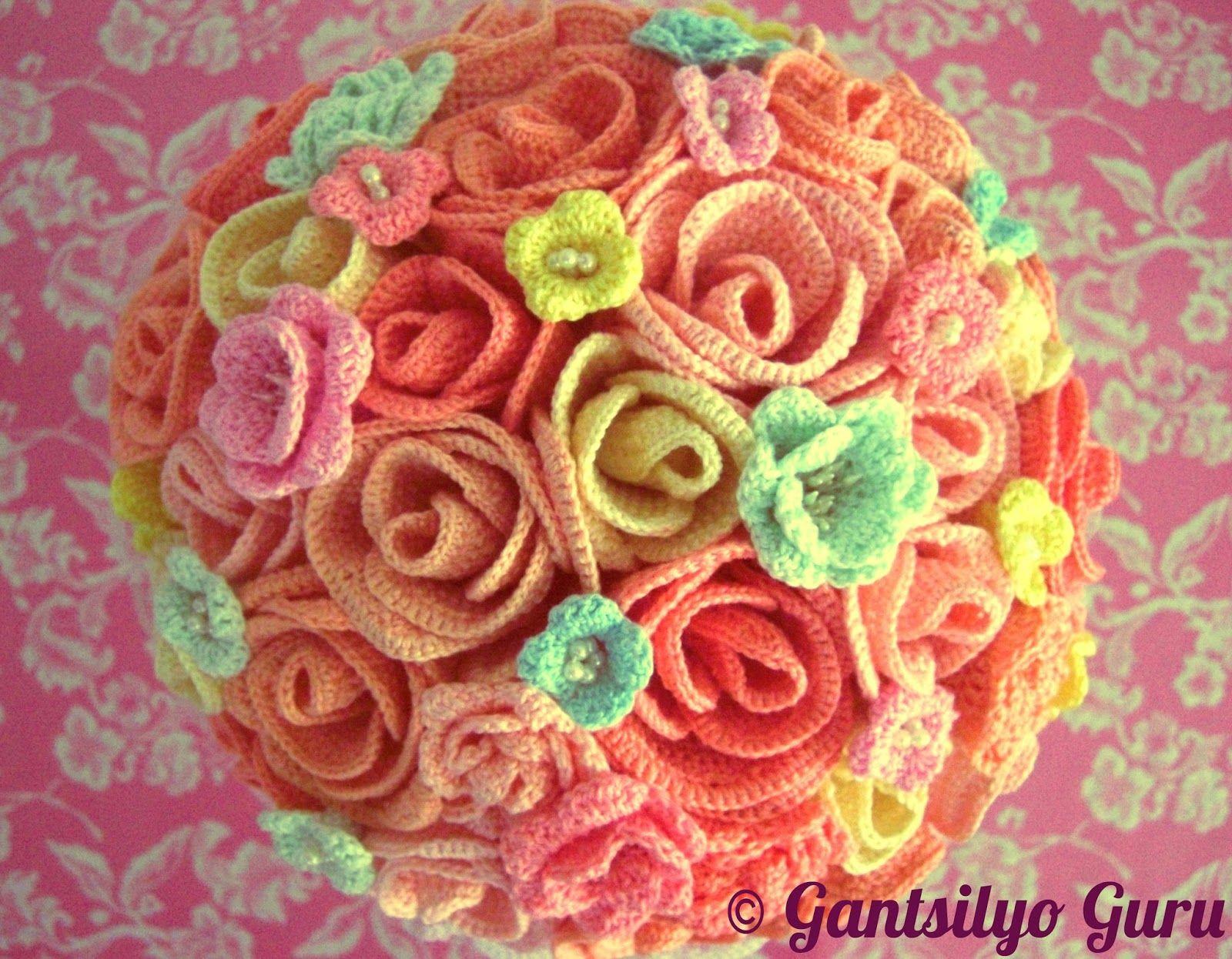Bridal bouquet crocheted crochet flowers pinterest crochet bridal bouquet crocheted izmirmasajfo