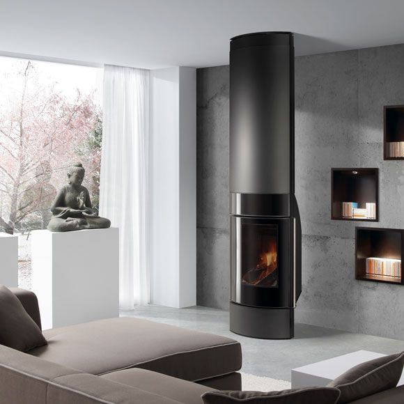 Chimeneas calor y dise o en tu hogar interiorismo chimenea estufa de le a le a y chimeneas - Instalar chimenea de lena ...