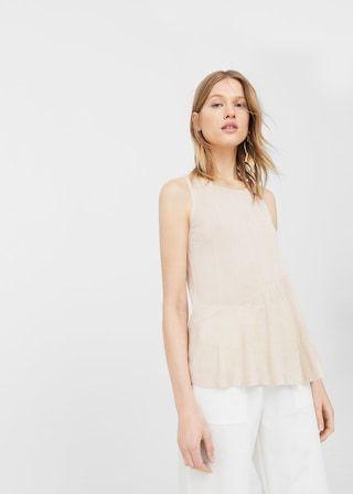 Zara CHAQUETA VOLANTE a 12.95€ | love the brands