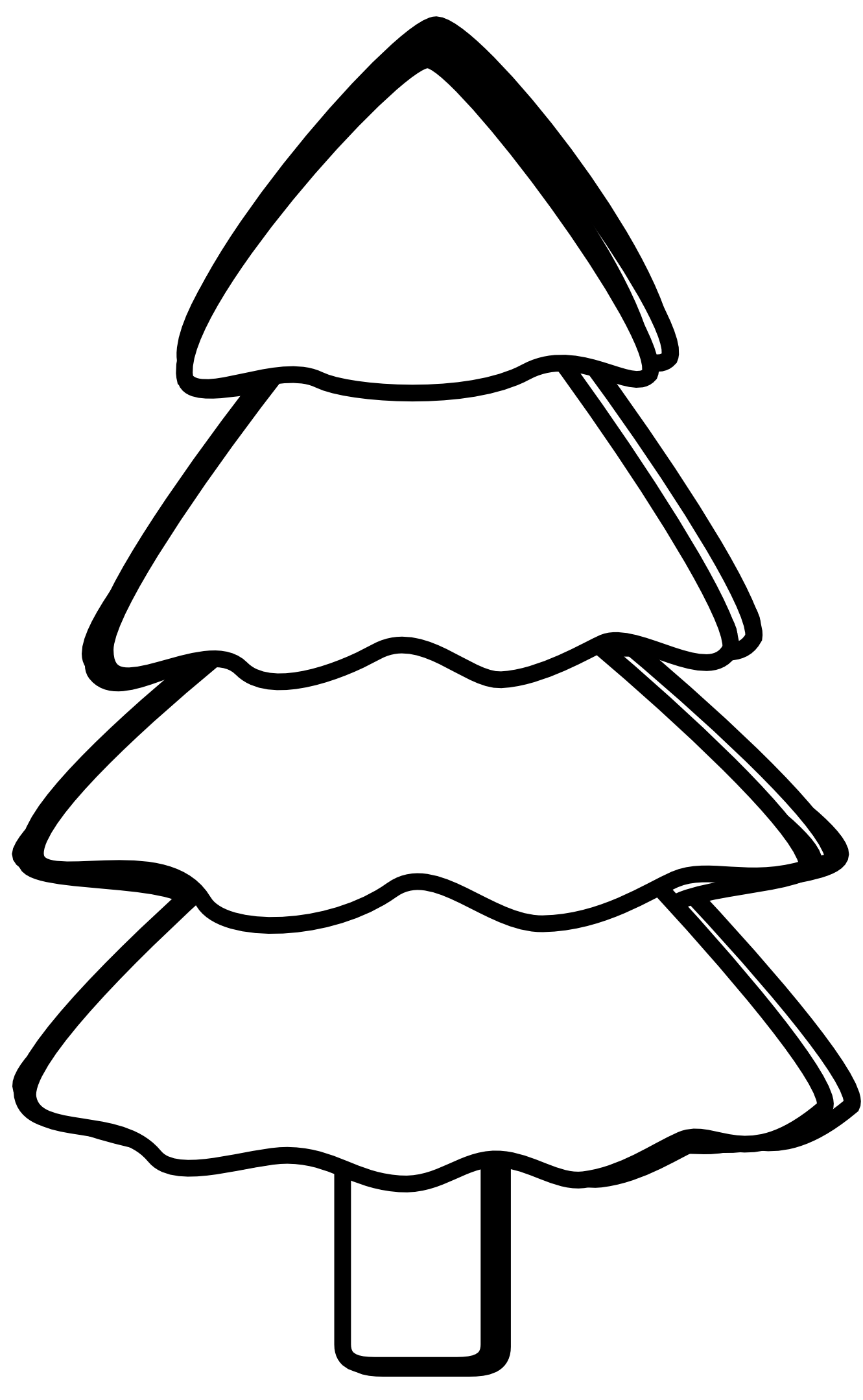 Tree Clip Art Black And White Clip art, Clipart black