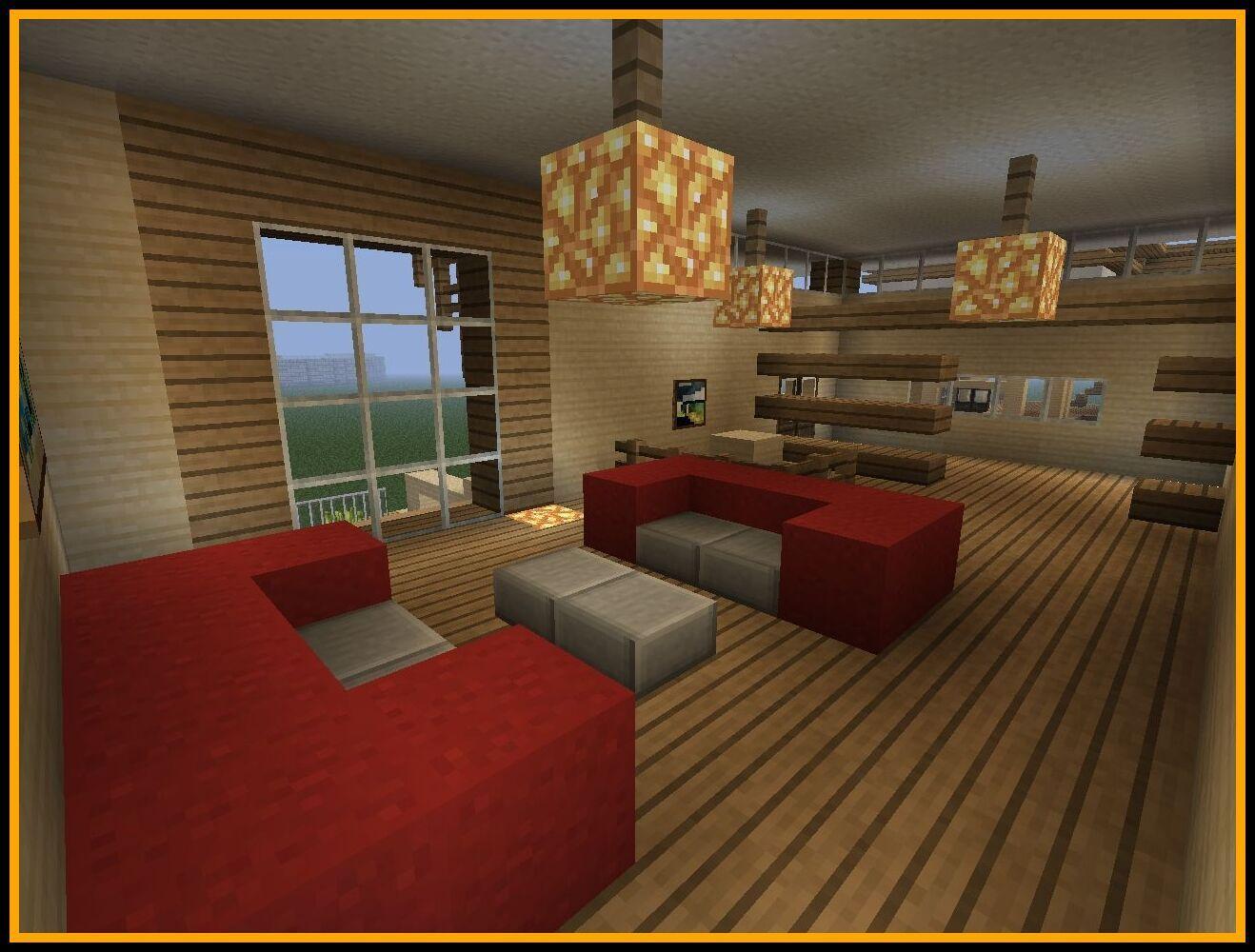 Minecraft Couch Designs