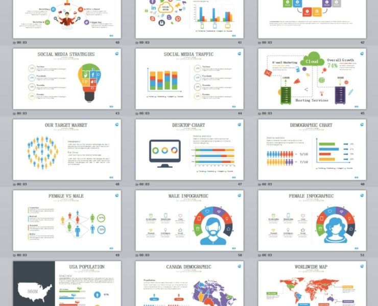 30+ three dimensional charts PowerPoint template   Infographic ...