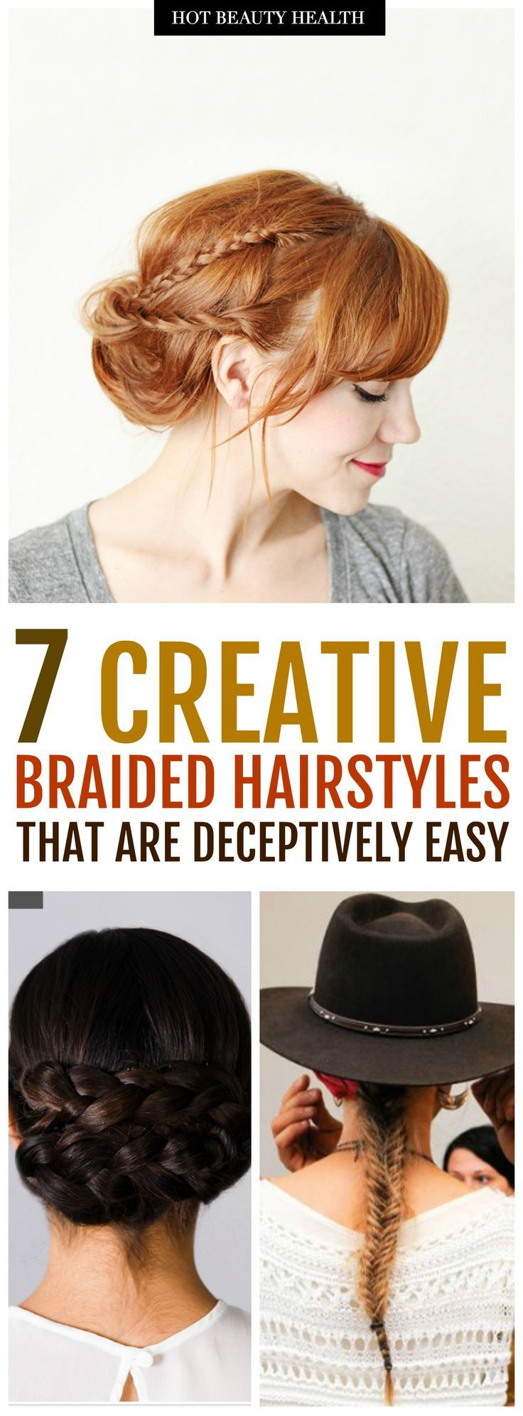 creative braided hairstyles that are deceptively easy hairstyles