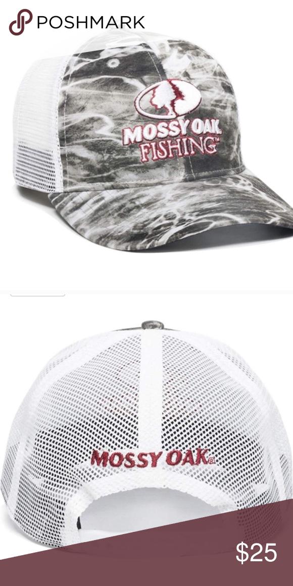 Mossy Oak Elements Mesh Back Fishing Hat Brand new 7363c6fd3104