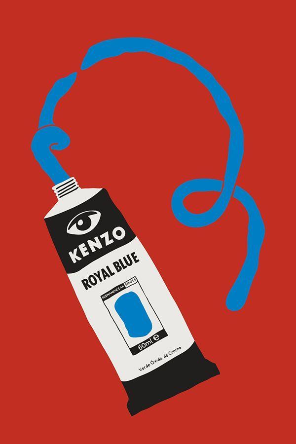 Kenzopedia #2 : B for... Blue - Kenzine, the Kenzo official blog