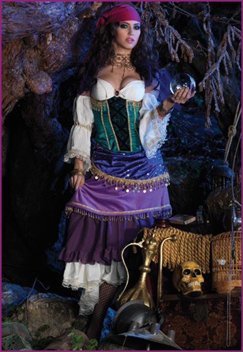 Love the colors of this Gypsy costume! //halloweenideasforwomen.com/ gypsy-costumes-for-women/  sc 1 st  Pinterest & Love the colors of this Gypsy costume! http://halloweenideasforwomen ...