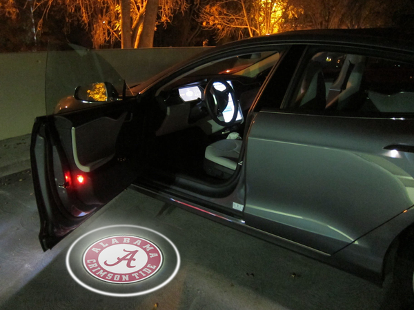 ALABAMA CRIMSON TIDE WIRELESS LED CAR DOOR SHADOW LIGHTS & ALABAMA CRIMSON TIDE WIRELESS LED CAR DOOR SHADOW LIGHTS | Alabama ... pezcame.com