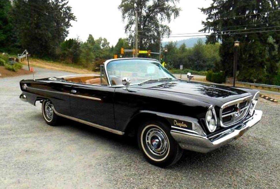 1962 Chrysler 300h Convertible 1 Of 135 Chrysler Classic Cars