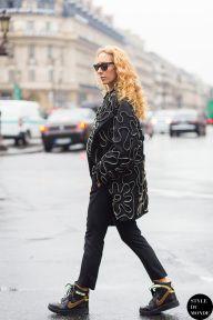 STYLE DU MONDE / Paris FW SS15 Street Style: Elina Halimi  // #Fashion, #FashionBlog, #FashionBlogger, #Ootd, #OutfitOfTheDay, #StreetStyle, #Style