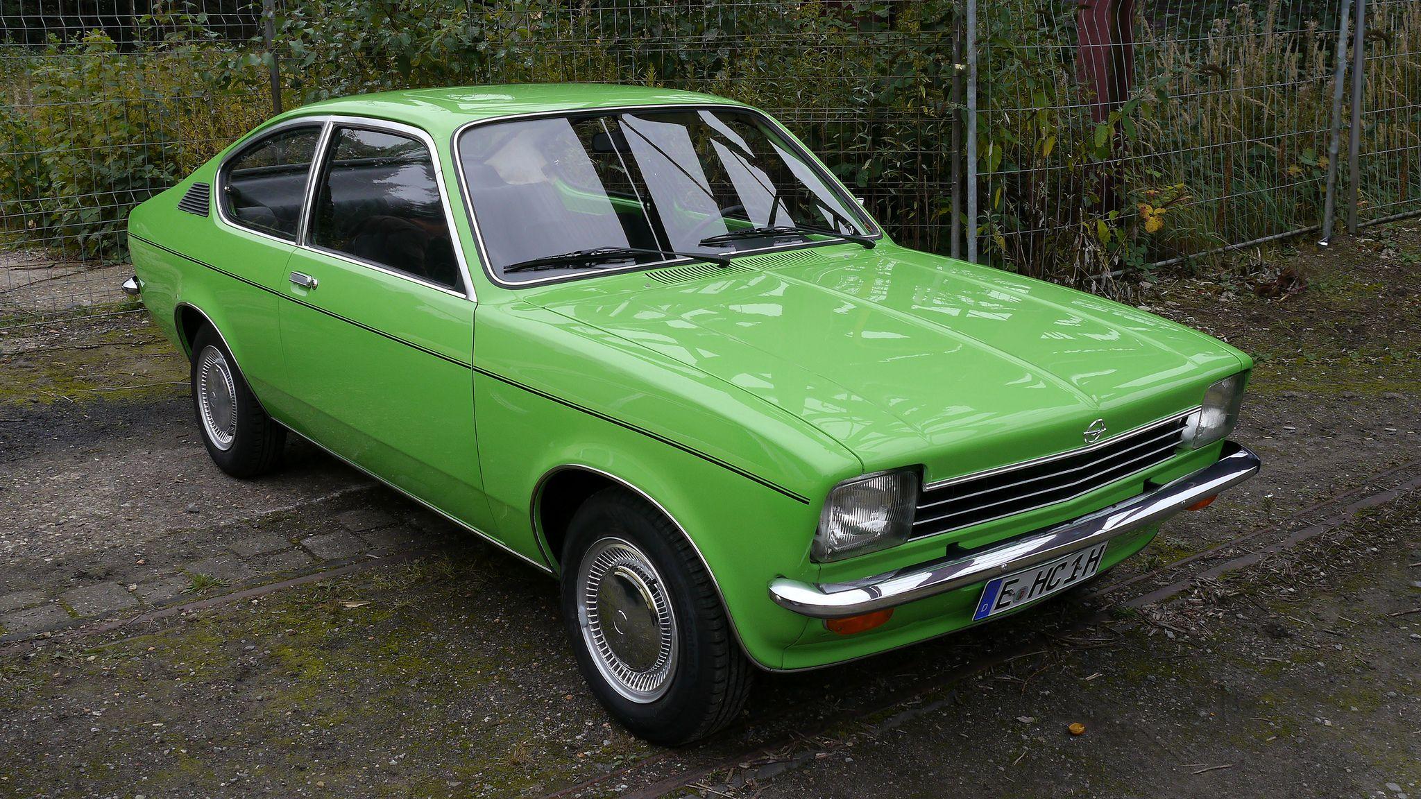 Opel Kadett C Coupe 1200 S Luxus 1973 77 Opel Kadett C Kadett