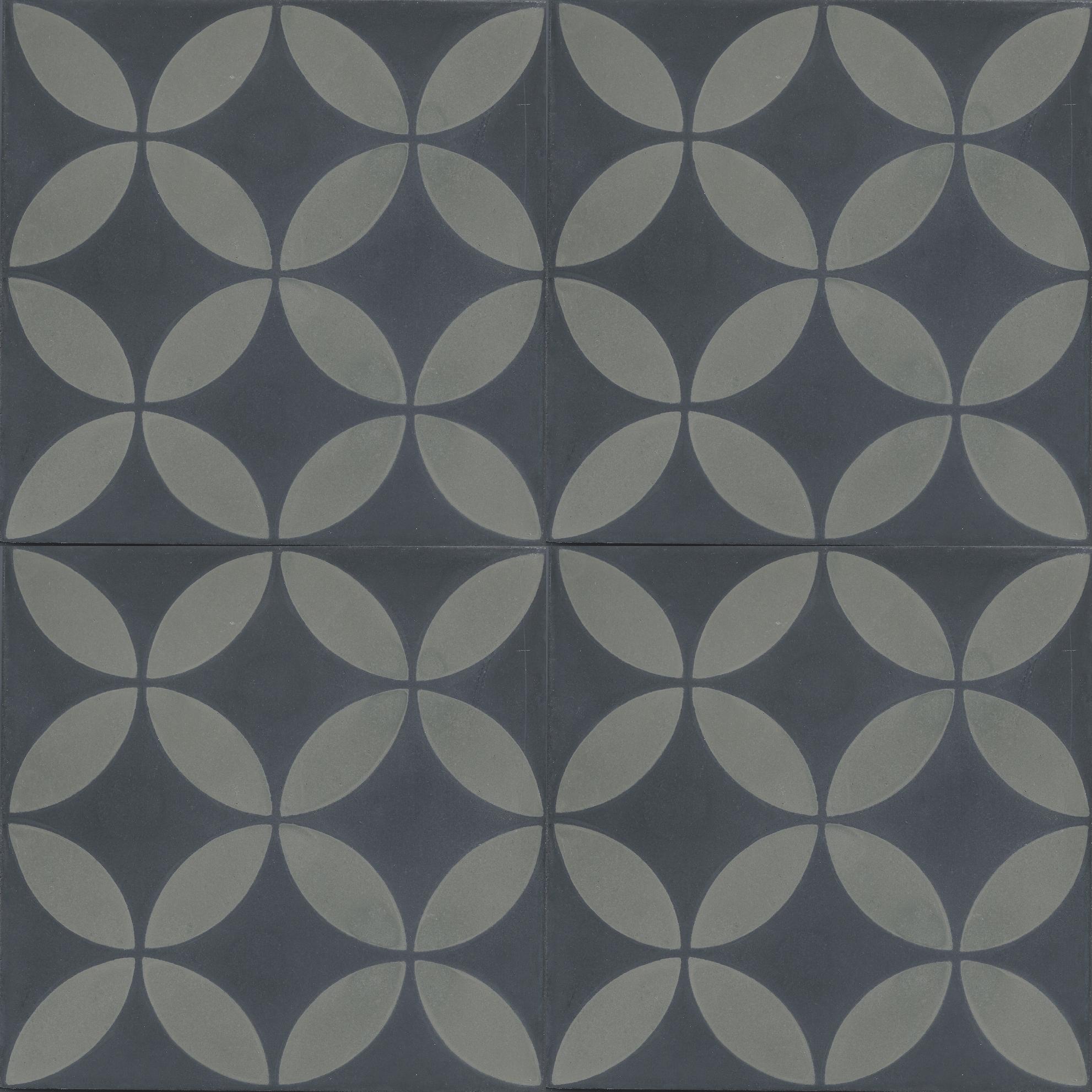 Küchenfliesen VN Circle of life (Negra Taupe) Zementfliesen von ...