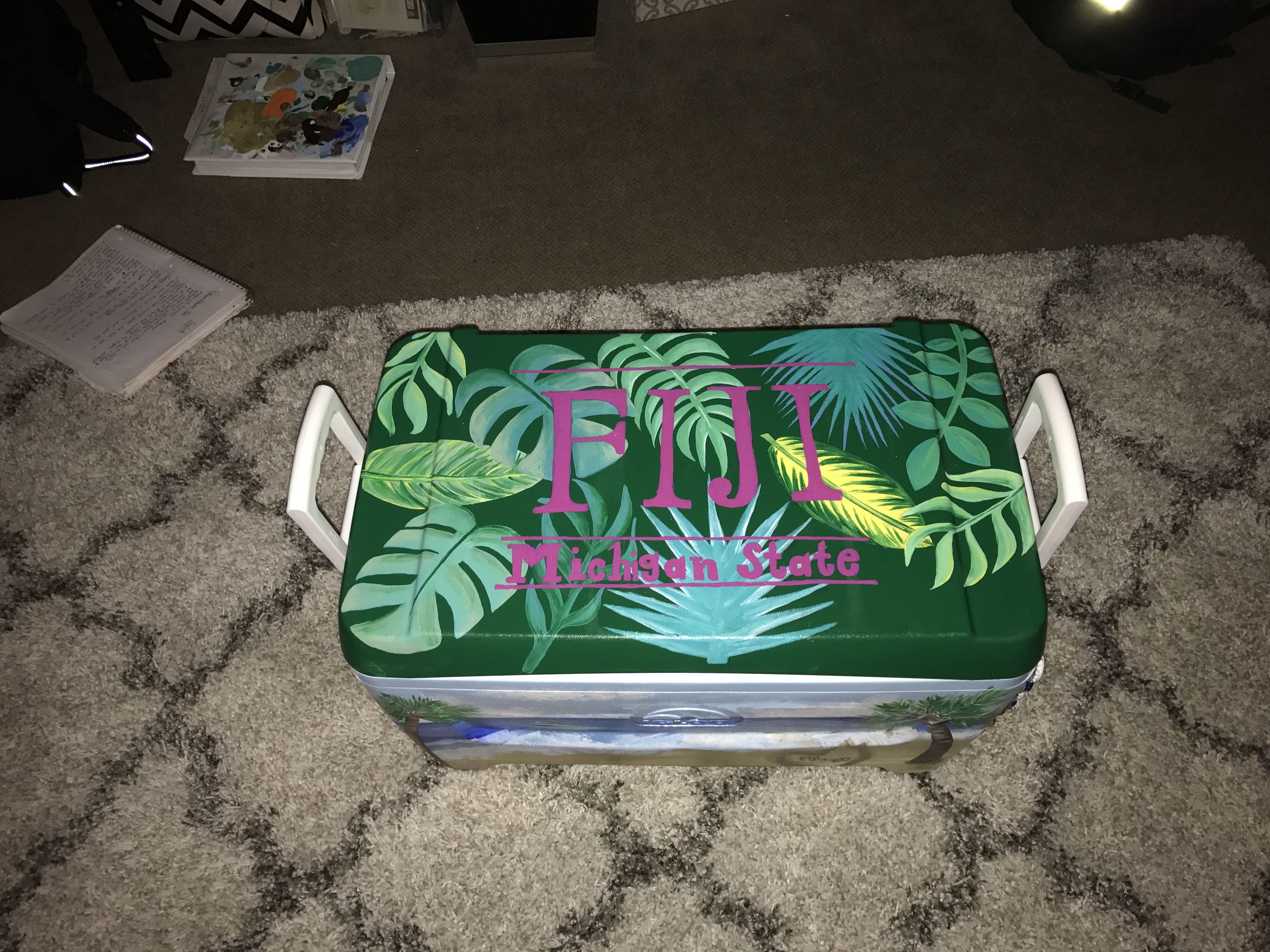 FIJI MSU cooler