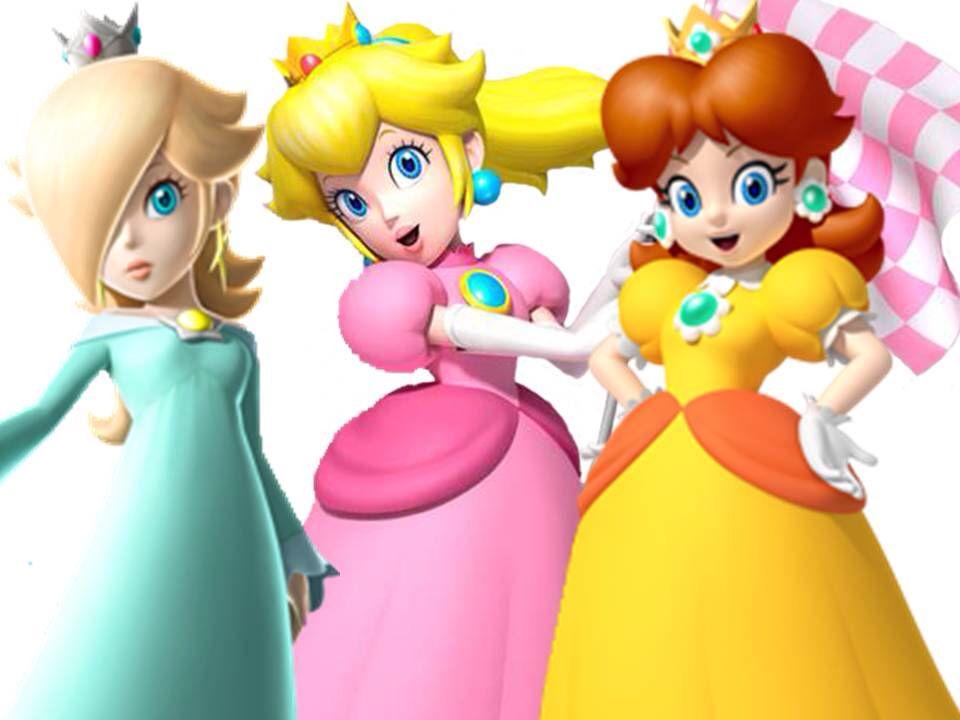 All Mario Princesses