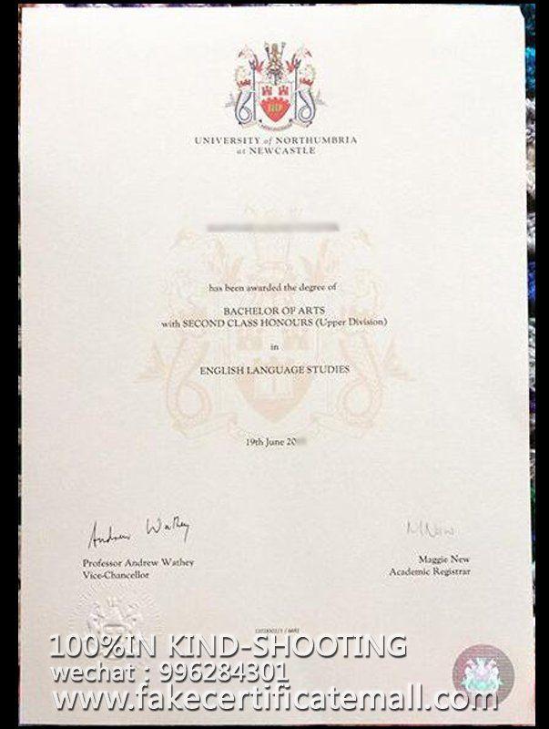where can I get Nottingham Trent University certificate?-Fake