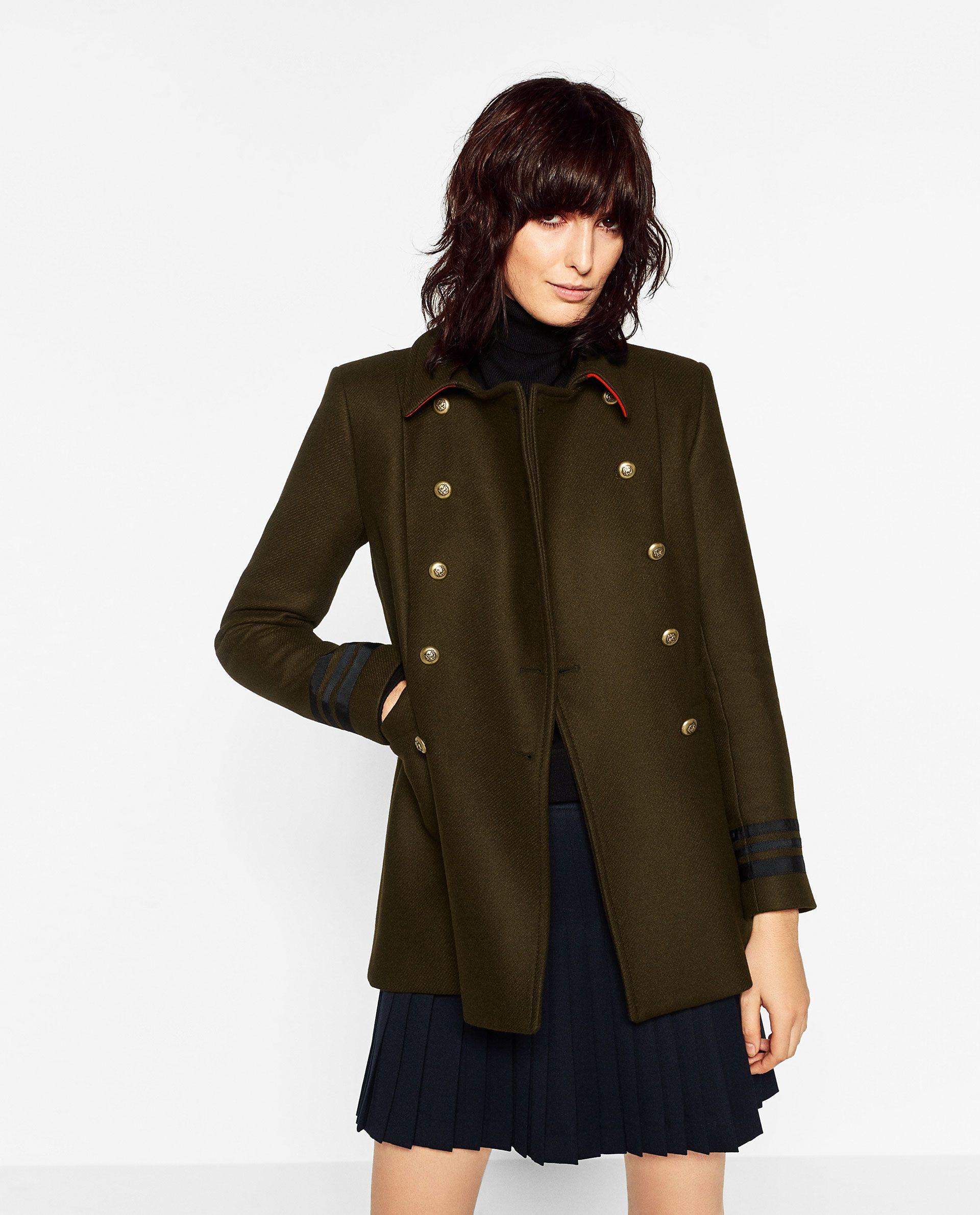 Femme Zara Mode Abrigos Pinterest 2018 Manteau rrzq5vx