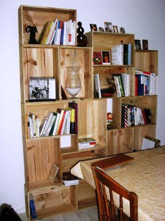 Super étagères en caisse à vin   meubles   Pinterest   Étagères palettes  TK77