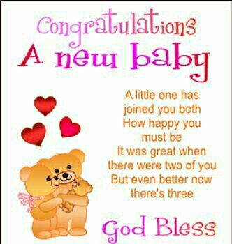 Pin by angel alloway on welcome to the world baby girl pinterest congratulation admin on becoming father of baby boy greetings m4hsunfo