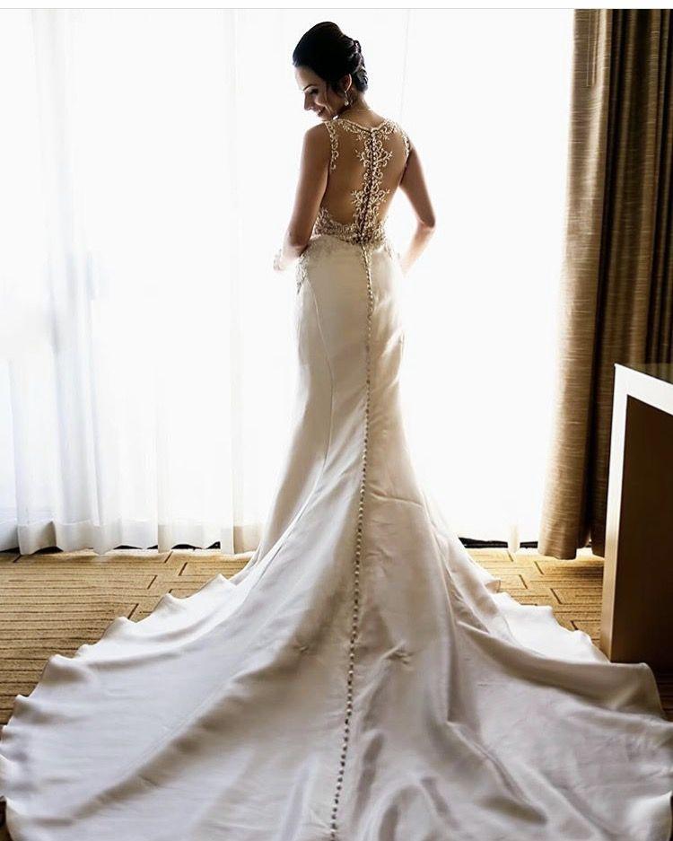 Essence of Australia magnolia gold dress with a mesh back