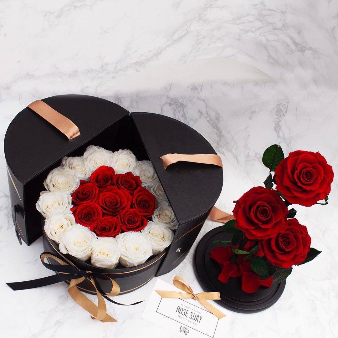 Eternity Rose 🌹 Eternal Flowers Dried Flowers Preserved
