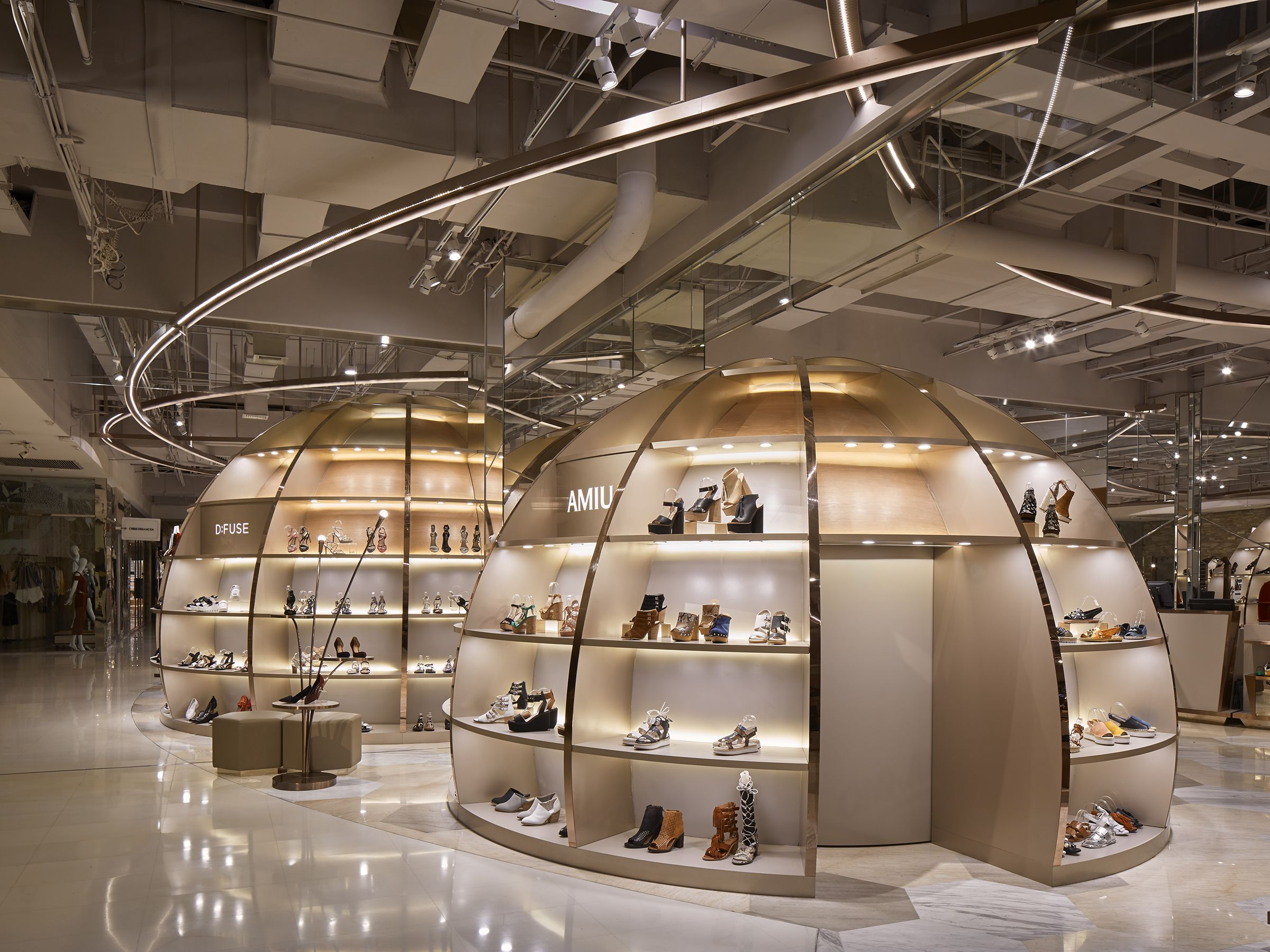 Chaoyang Joycity Beijing China 2F Shoes Designed By Garde Coltd Masahito