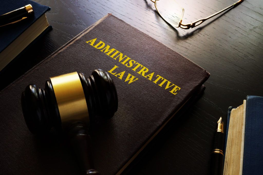 Administrative law manages the basic decision making of