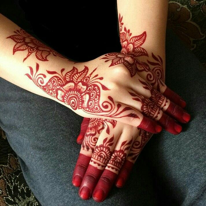 Red henna. How does one achieve this color?!