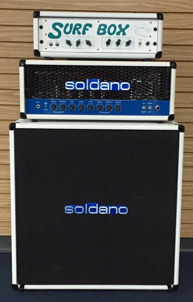 one off soldano slo 100 rig matching 4x12 cabinet with x pattern of stock eminence v12 legends. Black Bedroom Furniture Sets. Home Design Ideas