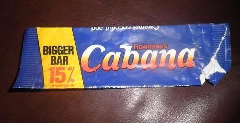 Cabana Chocolate Bar I Wish They Would Bring These Back I