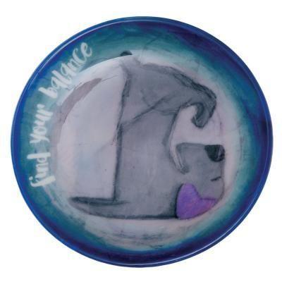 Ceramic Trinket Dish ~ find your balance