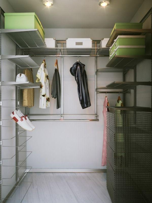 DIY Projekt für begehbaren Kleiderschrank-Ordnungssystem für ...
