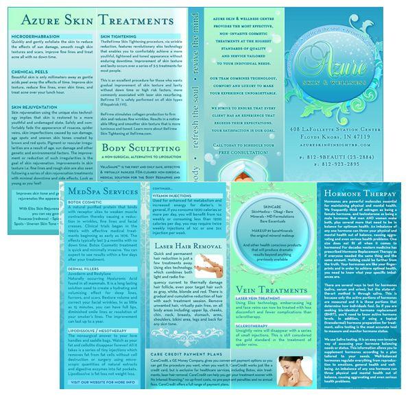 Beautiful Brochure Design Chic Brochures Glamorous Brochure