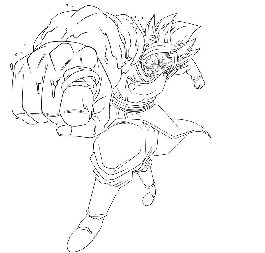 Bio Zamasu Lineart By Saodvd Art Dragon Ball Sketches
