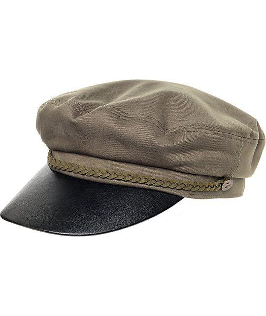 55af5e1cc66a0 Peter Grimm Mare Fiddler Olive Cap | Zumiez Grimm, Black Leather, Black  Patent Leather