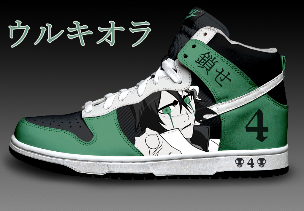 Ulquiorra Custom Nike Dunks by Azrael on