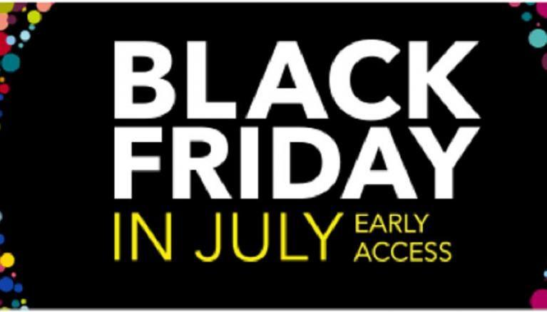 Amazon prime black friday in july