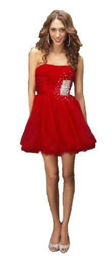 Red Shorts Prom Dresses