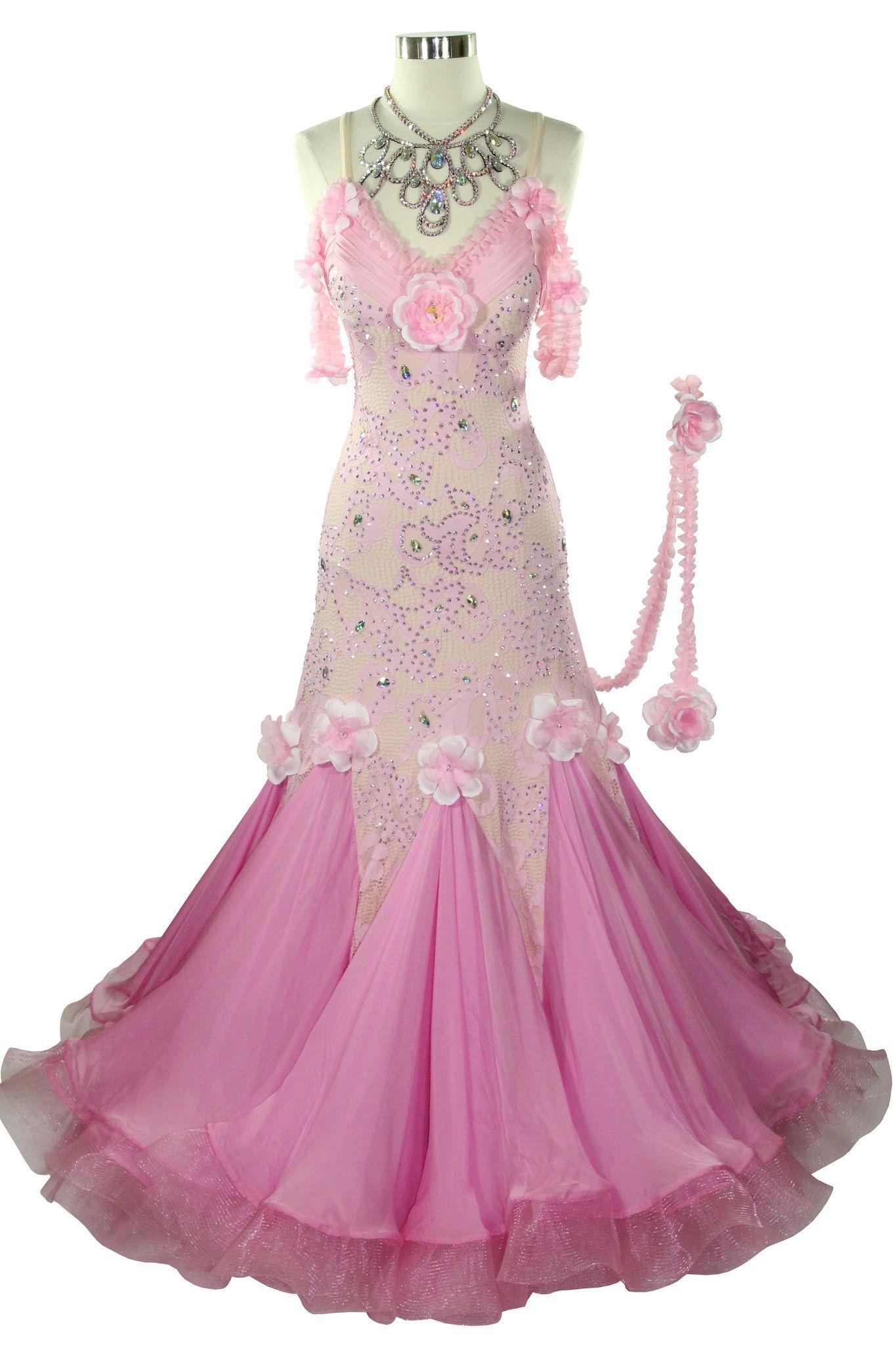Jasmine from VANDA DANCE | New ballroom dress ideas | Pinterest