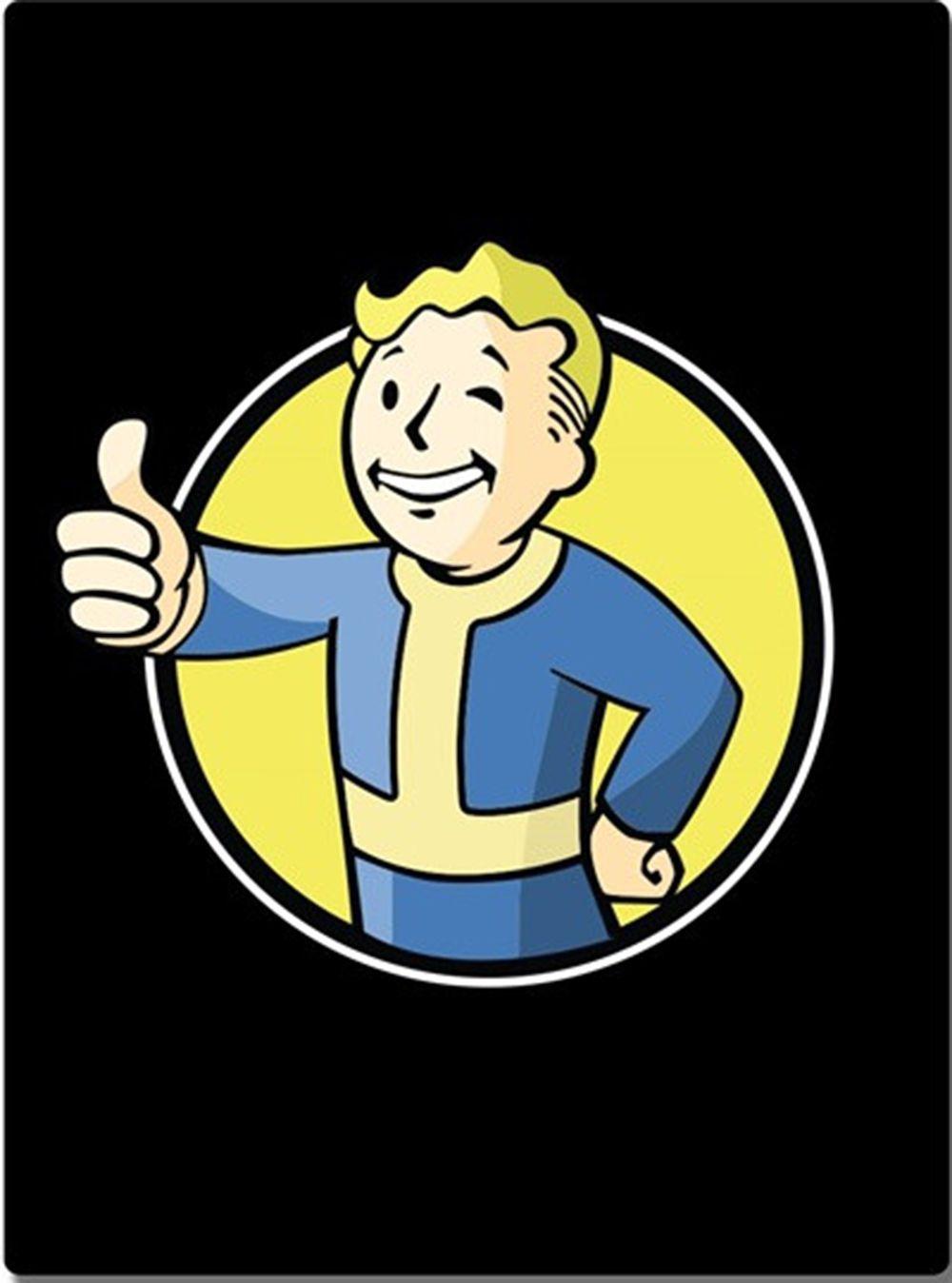 Fallout Vault Boy Black Blanket Vault boy fallout, Vault