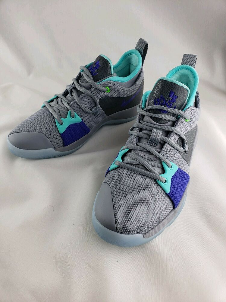new product 6c2ac 66782 Nike PG 2 GS Pure Platinum Neo Turquoise Youth Sz 7Y Basketball Shoes  943820-002  Nike  Athletic