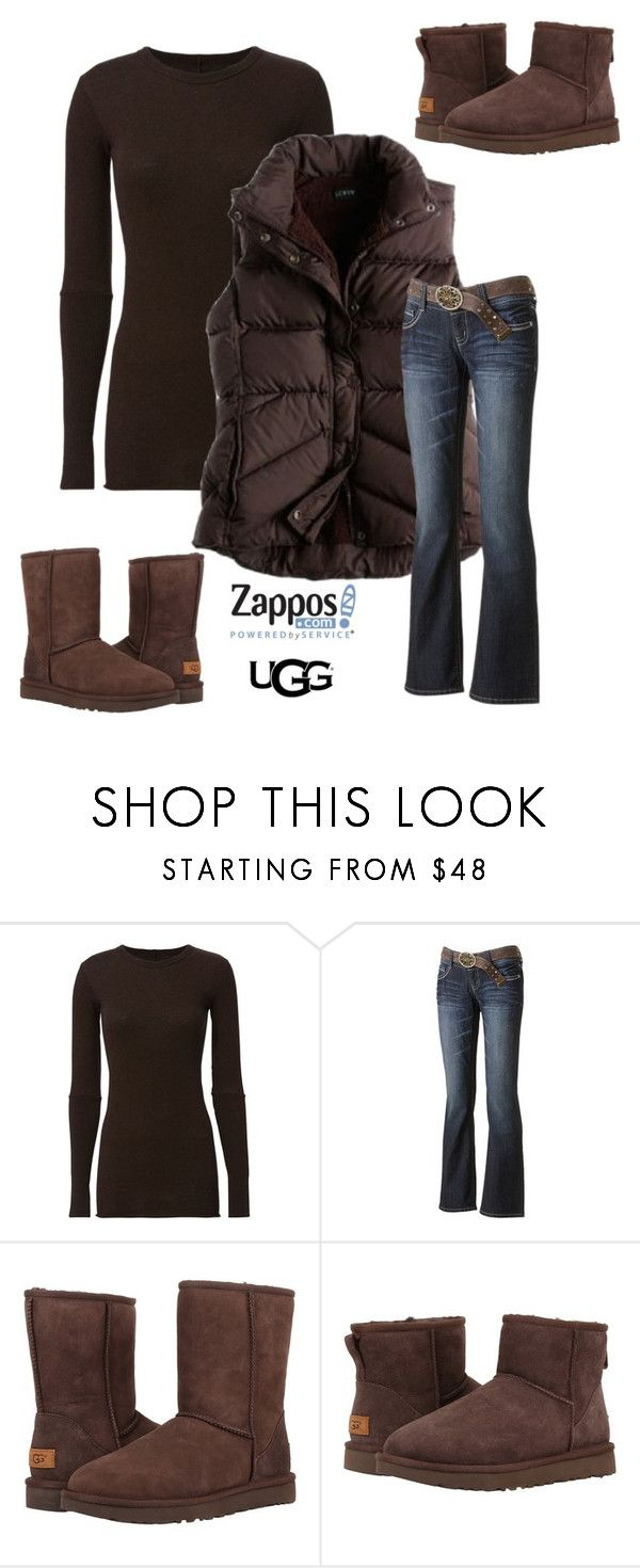 """The Icon Perfected: UGG Classic II Contest Entry"" by im-karla-with-a-k ❤ liked on Polyvore featuring Enza Costa, Wallflower, UGG Australia, ugg and contestentry"