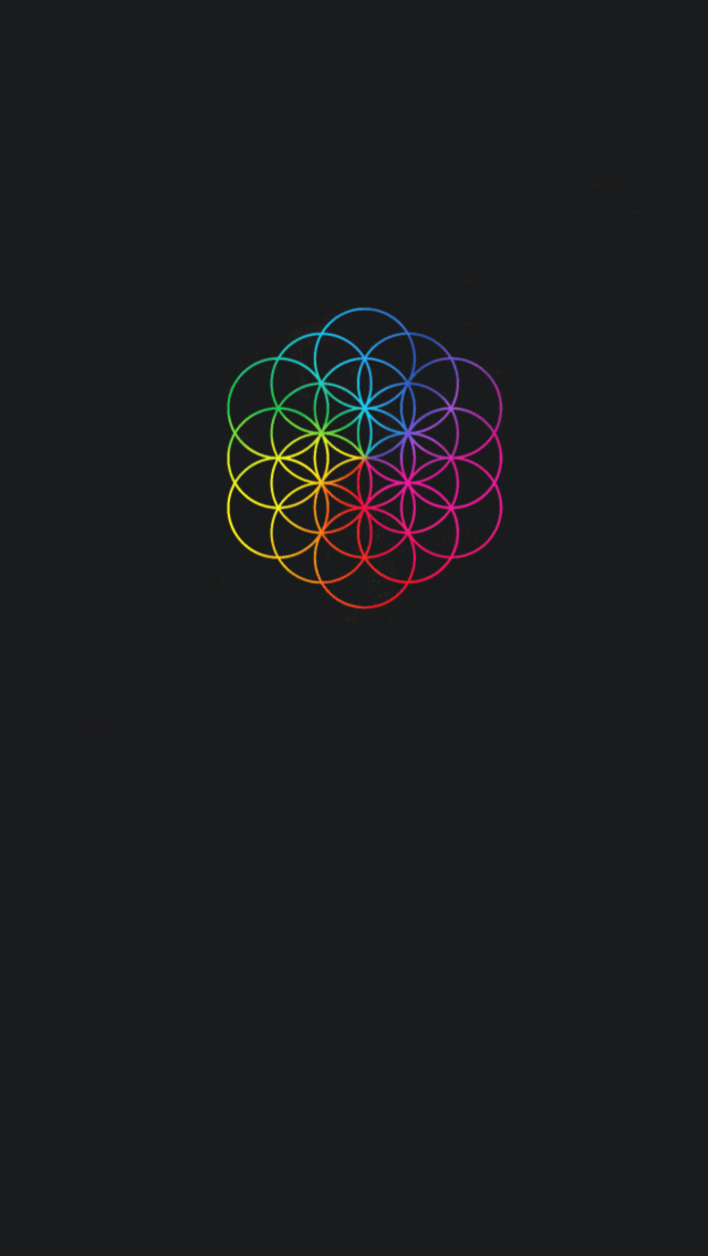 COLDPLAY HEAD FULL OF COLOUR MUSICA iphone case