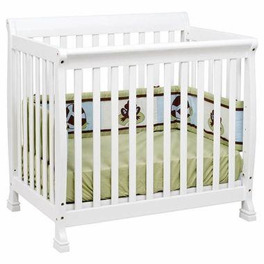 Davinci Kalani Mini Crib In White M5598w Free Shipping 159 00 Mini Crib Cribs Wood Crib