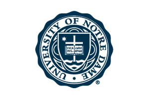 The Notre Dame Academic Seal Notre Dame University University Logo Education Logo
