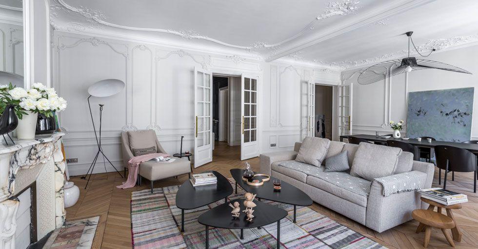 haussmanien architecte intérieur paris salon | Déco | Pinterest