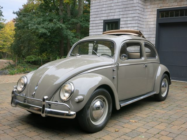 Learn More About Stock Look Oval Sleeper 1956 Vw Beetle W Dual Carb 1776 On Bring A Trailer The Home Of The Best Vin In 2020 Volkswagen Beetle Volkswagen Vw Beetles