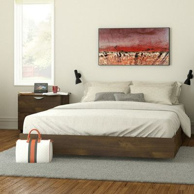 Nexera Nocce Queen Platform Bed Platform Bed Designs Queen Size
